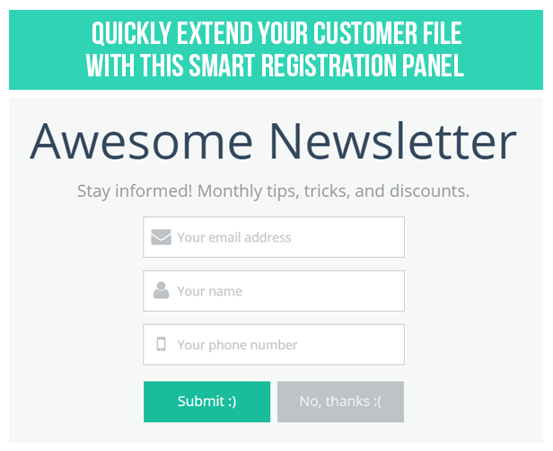 WP Mailchimp Newsletter Subscription Panel