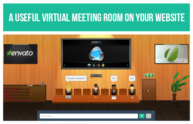 Screenshot WP Meeting Room